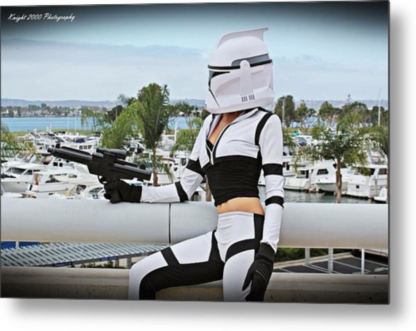 Star Wars By Knight 2000 Photography - Clone Wars Metal Print