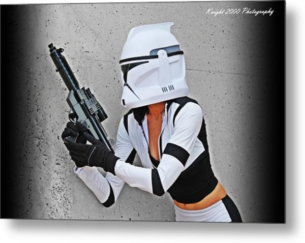 Star Wars By Knight 2000 Photography - Waiting Metal Print