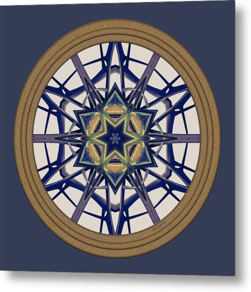 Metal Print featuring the digital art Star Window I by Lynde Young