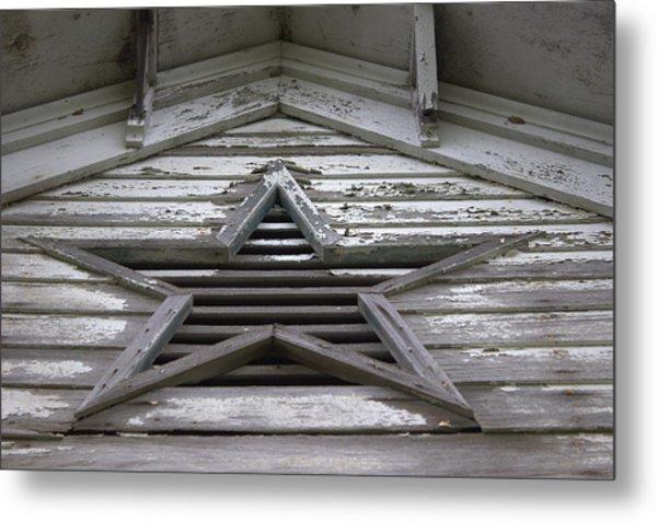 Star Window Metal Print