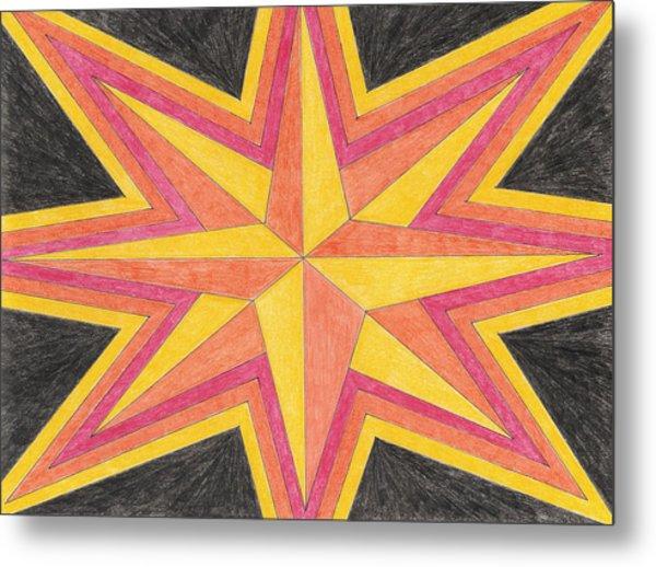 Starburst 2 Metal Print by Eric Forster