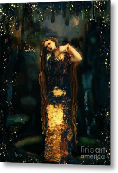 Midnight Starlight Metal Print