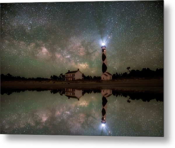 Starry Reflections Metal Print