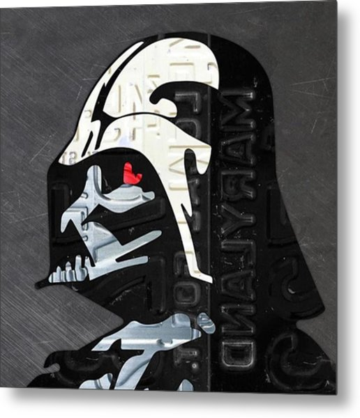 #starwars #theforceawakens #episode7 Metal Print