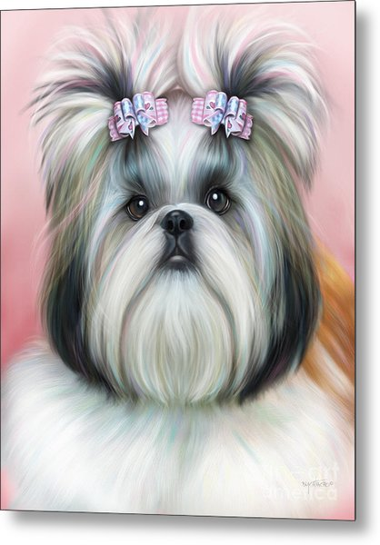 Stassi The Tzu Metal Print