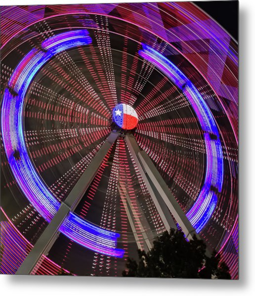 State Fair Of Texas Ferris Wheel Metal Print