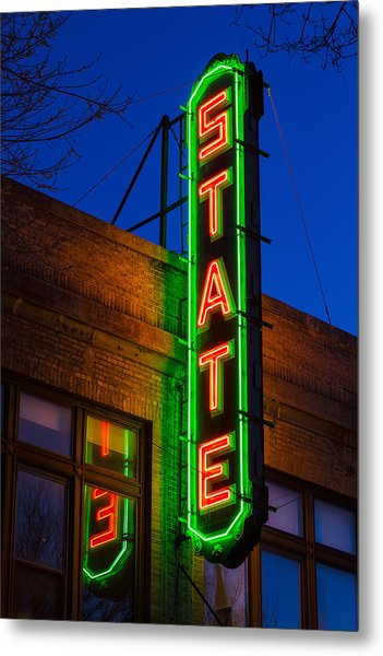 State Theatre - Ithaca Metal Print