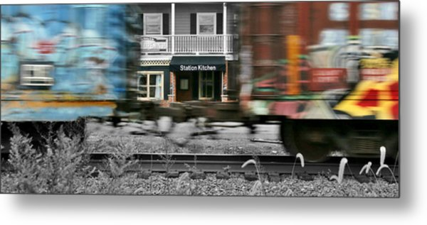 Station Kitchen Metal Print