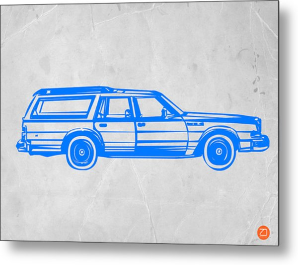 Station Wagon Metal Print