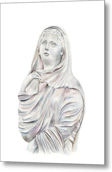 Statue Metal Print