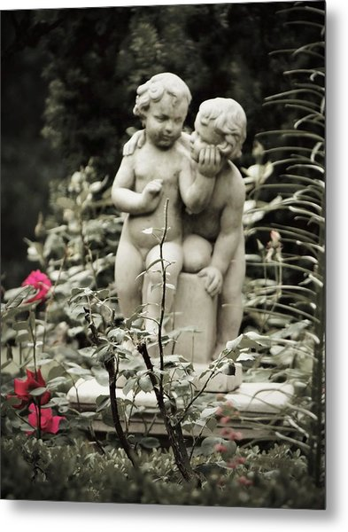 Statue Of Love Metal Print