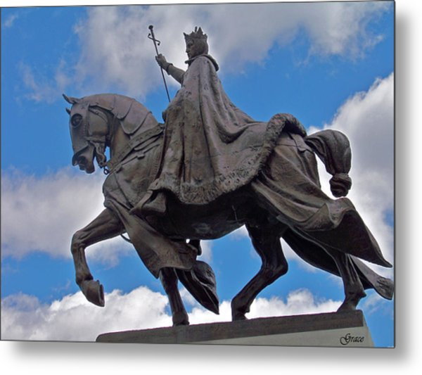 Statue Of St. Louis Metal Print