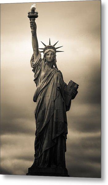 Statute Of Liberty Metal Print