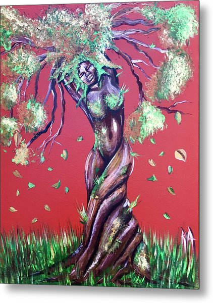 Stay Rooted- Stay Grounded Metal Print