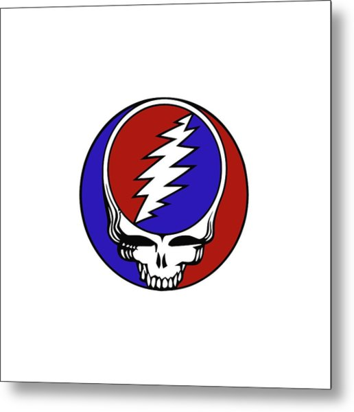 Steal Your Face Metal Print