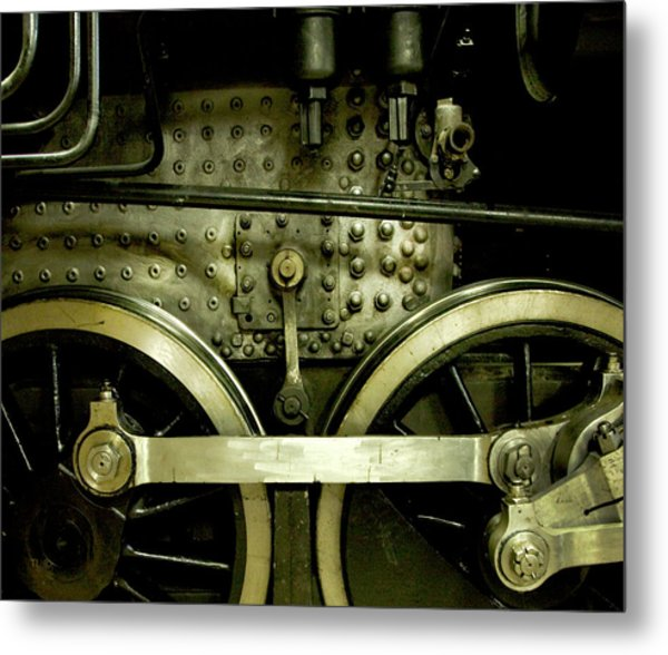 Steam Power I Metal Print