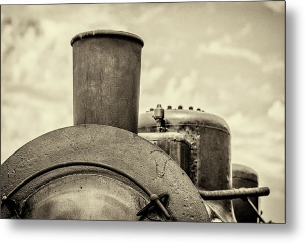 Metal Print featuring the photograph Steam Train Series No 2 by Clare Bambers