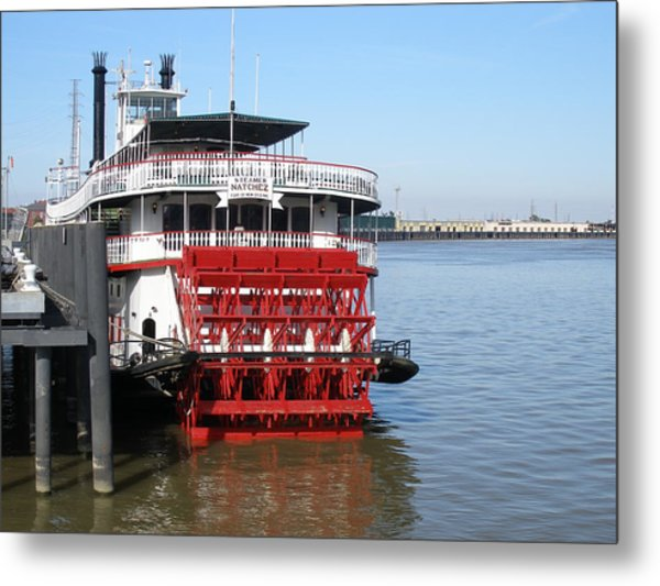Steamboat Natchez Metal Print by Jack Herrington