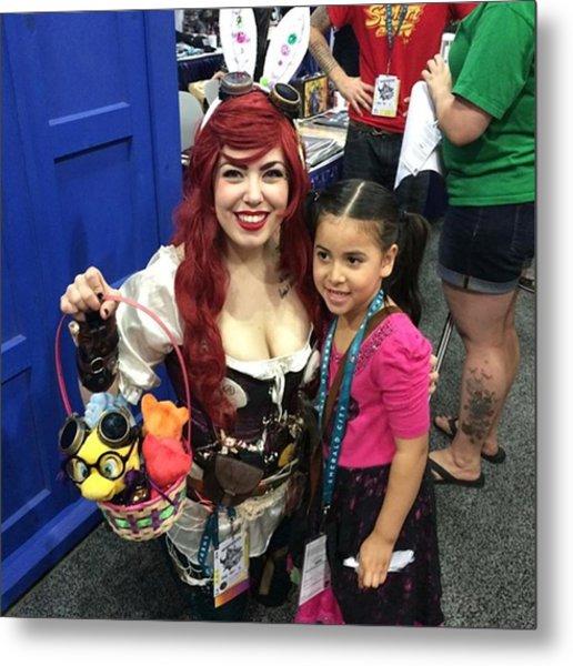 Steampunk Ariel #wondercon #wc2016 Metal Print