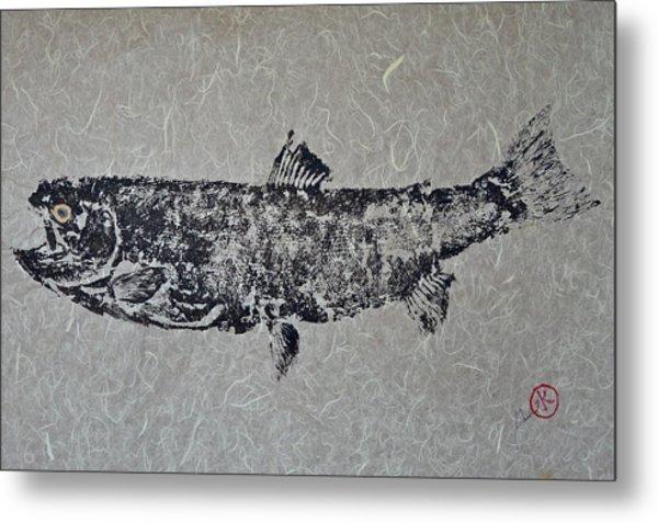 Steelhead Salmon - Smoked Salmon Metal Print