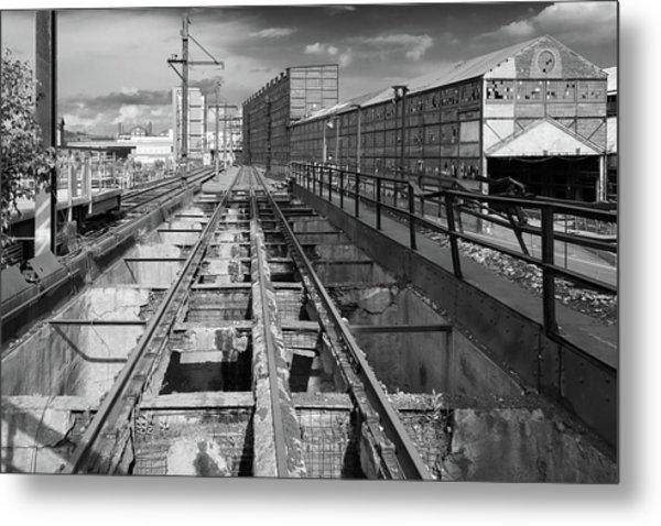 Steelyard Tracks 1 Metal Print