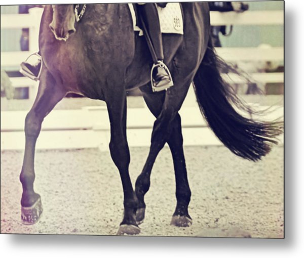 Step Up And Under Metal Print by Jamart Photography