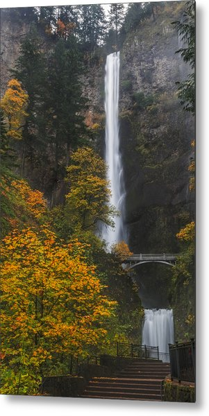 Step Up To Multnomah Metal Print