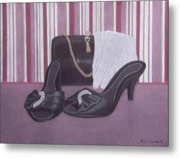 Stepping Out Metal Print by Nicole I Hamilton