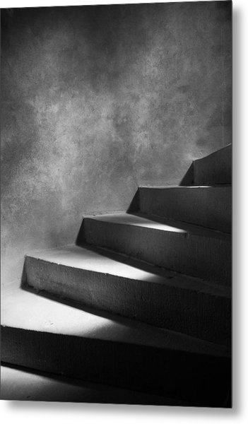 Steps Of Light Metal Print