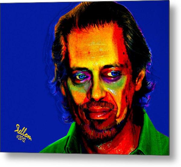 Steve Buscemi Pop Art Metal Print by Che Moller