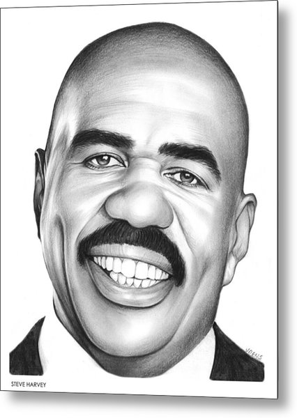 Steve Harvey Metal Print