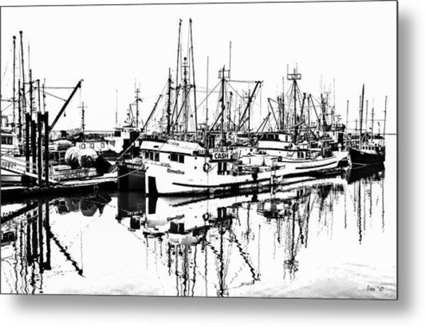 Steveston Harbor Metal Print