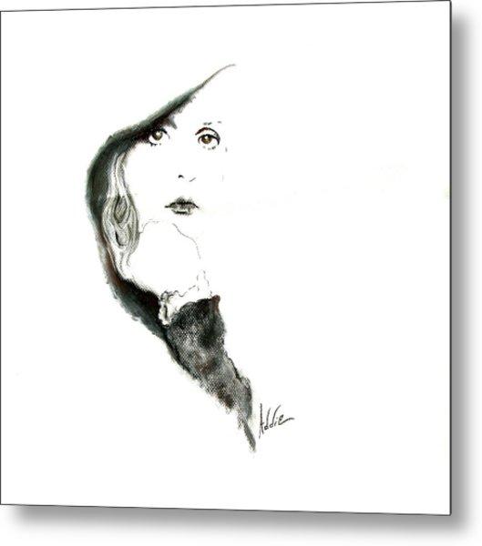 Stevie Nicks Metal Print by Addie Coppola