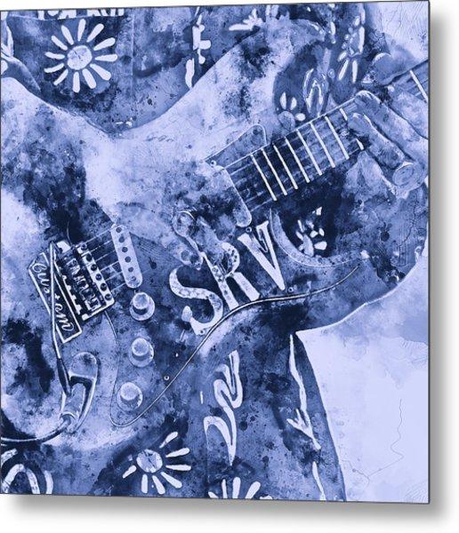 Stevie Ray Vaughan - 04 Metal Print