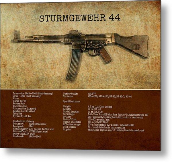 Stg 44 Sturmgewehr 44 Metal Print