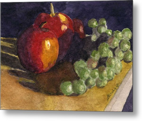 Still Apples Metal Print