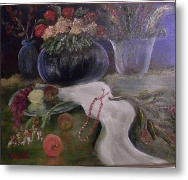 Still Life-2 Metal Print by M bhatt
