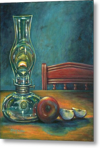 Still Life With Apples Metal Print by Colleen  Maas-Pastore