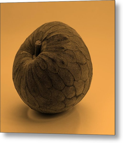 Still Life With Cherimoya Metal Print by Viktor Savchenko