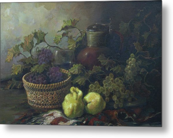 Still-life With Quinces Metal Print