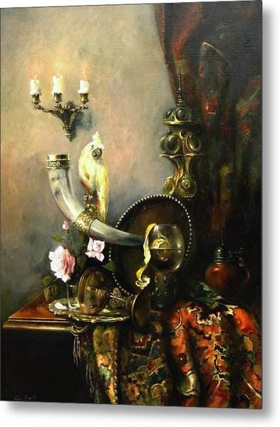 Still-life With The Dojra Metal Print
