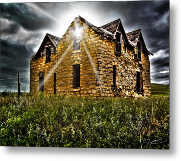 Still Occupied Metal Print
