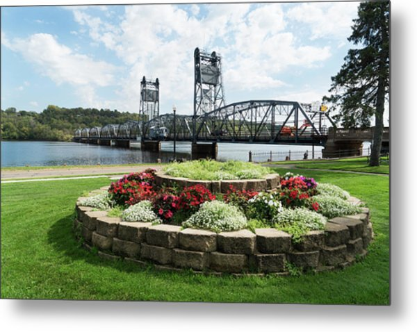 Stillwater And The Mississippi Metal Print
