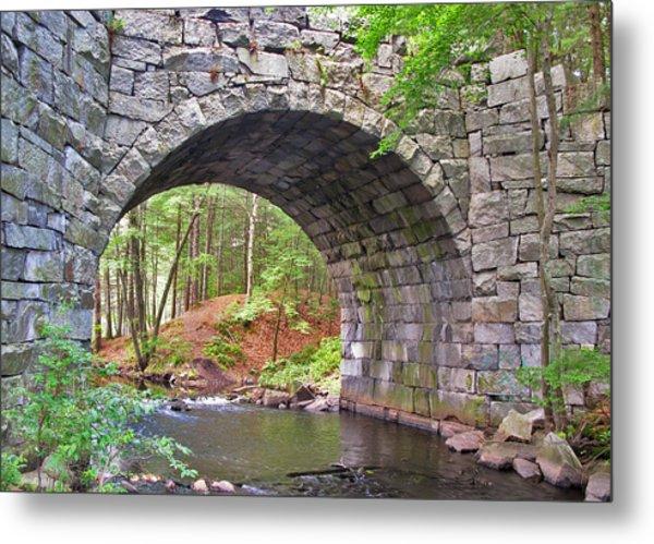 Stone Arch Bridge Metal Print