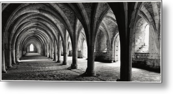 Stone Arches Metal Print by Michael Hudson