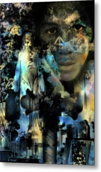 Stone Crosses And Death Angels - Trayvon Martin Metal Print