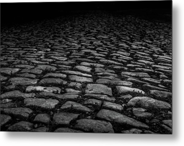 Metal Print featuring the photograph Stone Path by Doug Camara