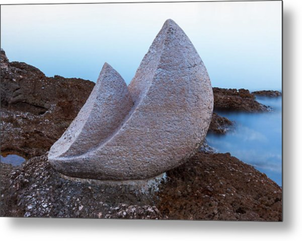 Stone Sails Metal Print