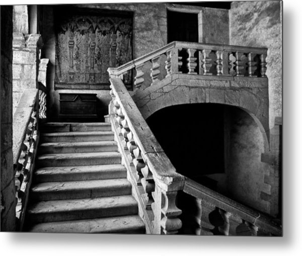 Metal Print featuring the photograph Stone Stairs by Adrian Pym