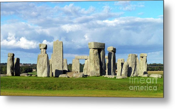 Stonehenge 6 Metal Print